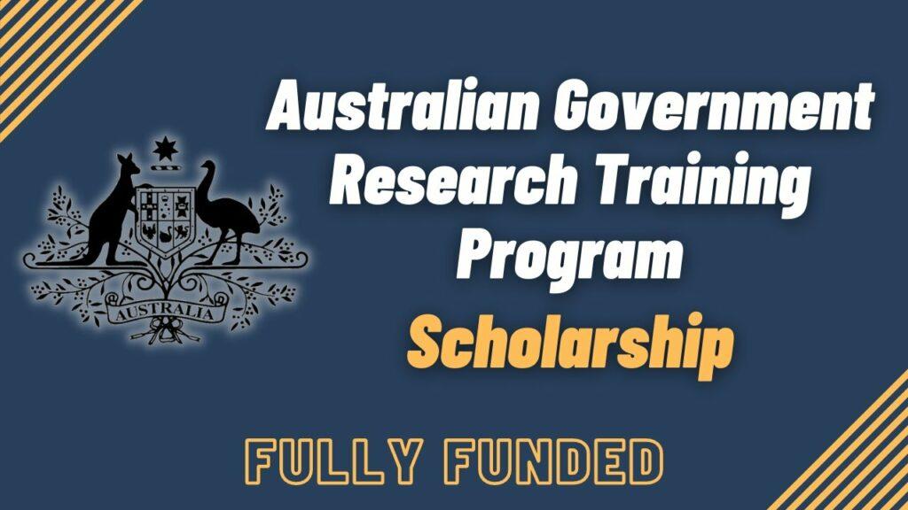 Học bổng Chương trình Đào tạo Nghiên cứu Úc